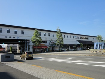 2010年8月2日 JR丸亀駅