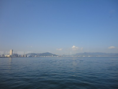 2010年8月2日(月) 海から観た高松港
