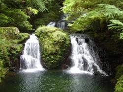 2008年8月18日の赤目滝 荷担滝