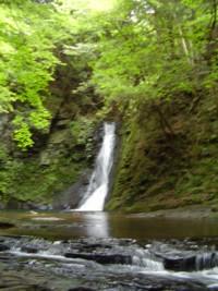 2008年8月18</div>日の赤目滝 琵琶滝