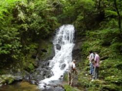 2008年8月18日の赤目滝 巌窟滝