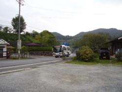 やって来た名張駅行きのバス