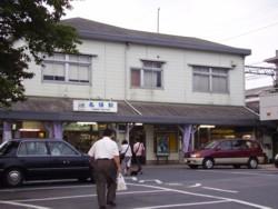 2008年8月18日の名張駅