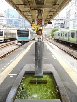 2009年7月20日 JR浜松町駅の小便小僧