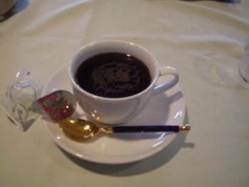 2009年8月13日(木)室堂 ホテル立山 ティーラウンジりんどう  水出しコーヒー