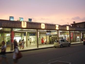 2009年8月13日(木)魚津駅