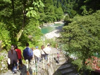 2009年8月14日(金) 猿飛峡へ