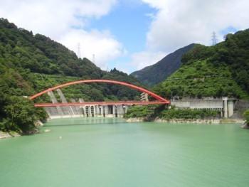 2009年8月14日(金) 宇奈月ダム