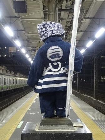2015年11月JR浜松町駅の小便小僧2