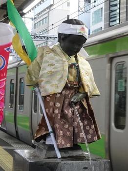JR浜松町駅の小便小僧3