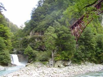 2009年10月10日の 奥鐘橋