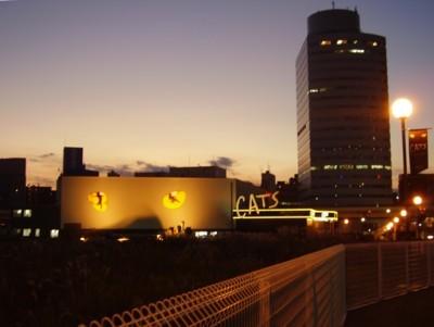 横浜「キャッツ」 2009年11月21日(土)  夕暮れ時