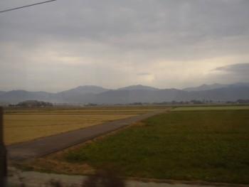 2009年9月21日 福井駅発北陸本線の車窓から