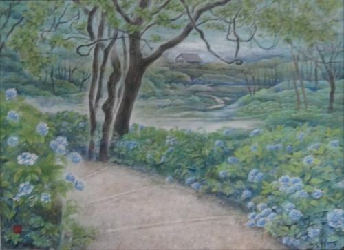 「六甲山の風景から」完成