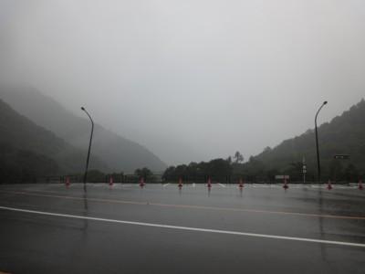 2013年9月16日 雨の扇沢