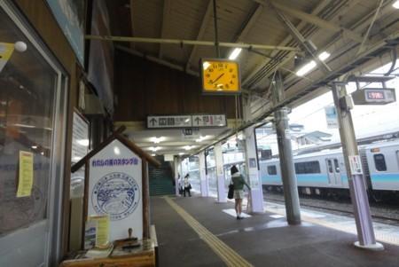 2013年9月16日 JR信濃大町駅