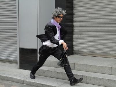 新宿駅前で出合ったパフォーマー1