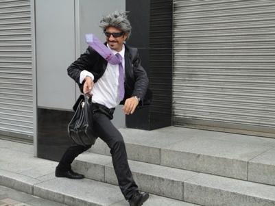 新宿駅前で出合ったパフォーマー2