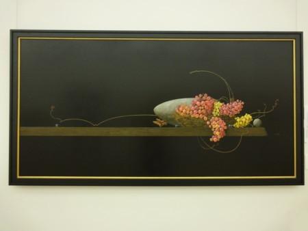 百瀬郷志(1949〜2010)作「葡萄」1