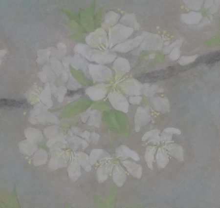 「スモモの花」 完成アップ2