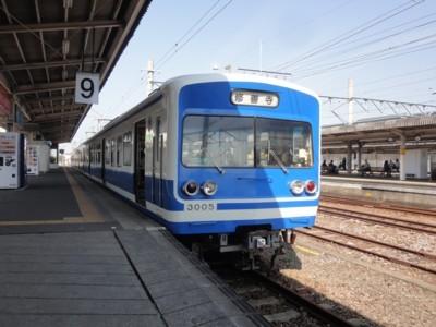 2013年4月29日 修善寺駅から伊豆箱根駿豆線