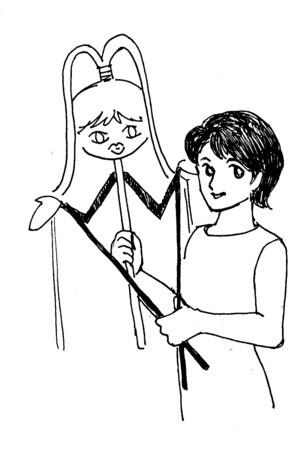 平常(たいらじょう)「毛皮のマリー・人形劇版」初演版