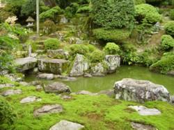 瀧谷寺の庭園 1