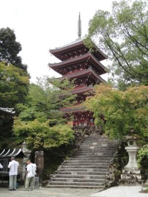 2010年8月3日 竹林寺 五重塔