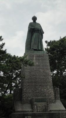 2010年8月3日 桂浜 坂本竜馬像