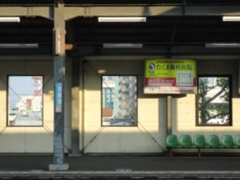 2010年8月2日 JR丸亀駅 ホーム