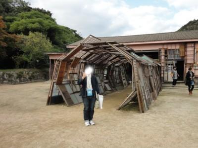 塩田千春さんの作品「遠い記憶」6
