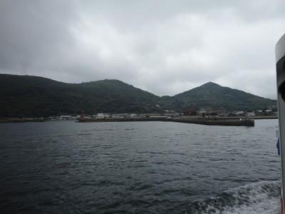 2010年10月28日の女木島港