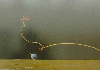 百瀬郷志(1949〜2010)作「葡萄」2