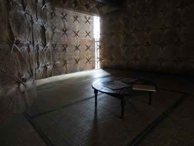 西堀隆史さんの「うちわの骨の家」1