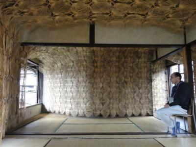 西堀隆史さんの「うちわの骨の家」3