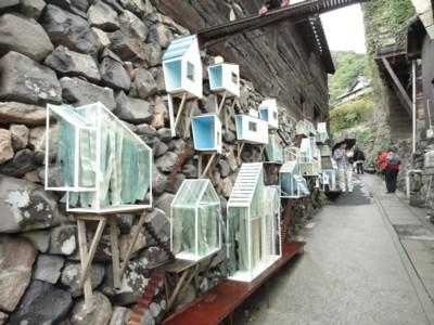 中西ひろむ&中井岳夫作「海と空と石垣の街」1