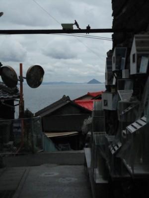 中西ひろむ&中井岳夫作「海と空と石垣の街」3