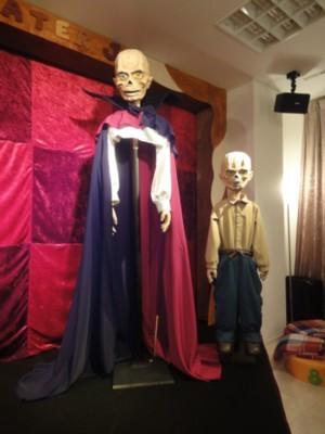 人形劇俳優たいらじょう「エリック オペラ座の怪人」1