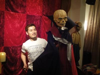 人形劇俳優たいらじょう「エリック オペラ座の怪人」2