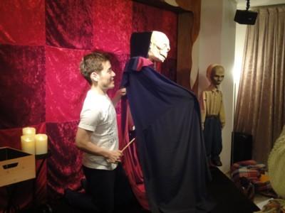 人形劇俳優たいらじょう「エリック オペラ座の怪人」3
