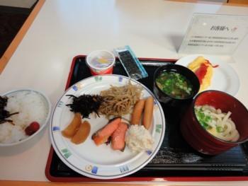 2010年8月2日(月) エルステージ川六 朝食