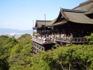 2008年10月13日の清水寺