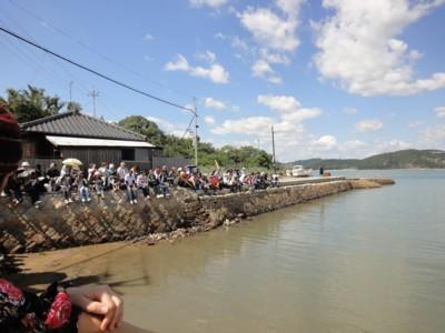 2011年9月23日 劇団維新派公演「風景画」中の谷入江 1
