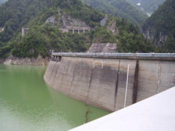 2009年8月13日(木) 黒部ダム その1