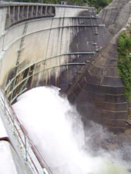 2009年8月13日(木) 黒部ダム その3