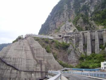 2009年8月13日(木) 黒部ダム その4