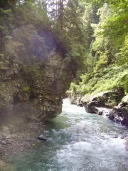 2009年8月14日(金) 猿飛峡 その3