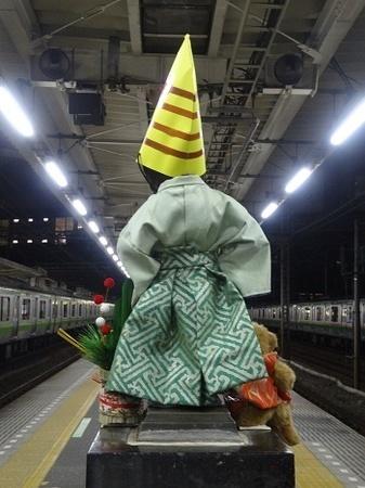 2016年1月 JR浜松町駅の小便小僧2