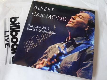 Albert Hammond サイン