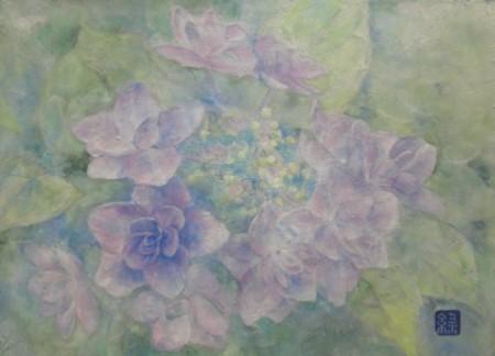 紫陽花の花 2013年